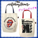 【THE ROLLING STONES】ザ・ローリング・ストーンズグッディバッグ トートバッグ/通学/通勤/学校/オフィス/A4/バッグ/プレゼント/