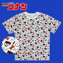 【SALE★30%OFF!!】 名探偵コナン アイコン パターン Tシャツ SHCN1192_SHCN1193