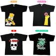 THE SIMPSONS【シンプソンズ】半袖Tシャツアパレル/夏服/おしゃれ/バート/アメコミ