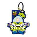 ショッピングトイストーリー Disney / PIXAR ディズニー ピクサー トイストーリー4 ICカード シリコンパスケース バズ&エイリアン APDS4275