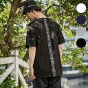 Kappa(カッパ) バックラインTシャツ(ホワイト/ネイビー/グレー/ブラック)