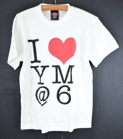 【中古】You Me At Six ユーミーアットシックス I LOVE YM at6 半袖 Tシャツ M ○ メール便可 【170629】古着【メンズ】【s50】
