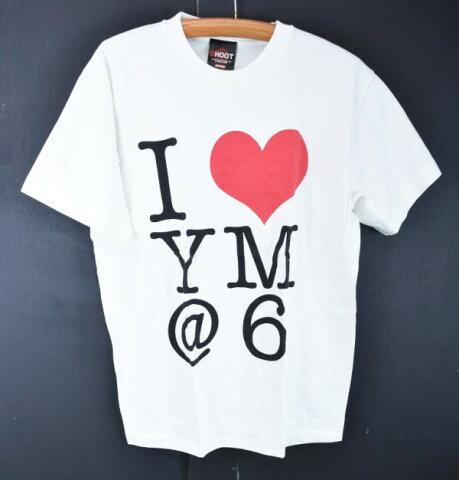 【中古】You Me At Six ユーミーアットシックス I LOVE YM 半袖 Tシャツ M 白 ○ メール便可 【170629】古着【メンズ】【500円ポッキリ】【s50】