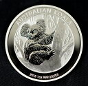 【純銀コイン】コアラ銀貨 1オンス 2013年製 オーストラリアパース造幣局発行 純銀 銀 シルバー コイン 銀貨 99.9% 硬貨 貨幣 エリザベス オーストラリア 外国 純銀