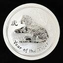 干支寅 トラ 銀貨 10オンス 2010年製オーストラリアパース造幣局発行