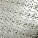 INGOT インゴット 純銀スイス ヴァルカンビ コンビバー シルバーバー 100g (1gx100)スイス・ヴァルカンビ社発行100gの純銀 インゴット シル...