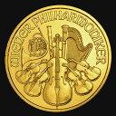 【新品・未開封】『ウィーン金貨 1/10オンス (ランダム・イヤー) クリアケース入り』 オーストリア造幣局発行 3.11gの純金 品位:K24 (99.99%) 純金 24金 純金コイン ゴールド コイン《安心の本物保証》 【保証書付き・巾着袋入り】