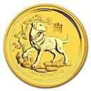 【新品・未開封】『干支戌金貨 1/10オンス 2018年 クリアケース入り』オーストラリアパース造幣