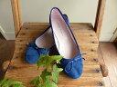 【SALE】きれいなブルーのバレエシューズ(5CR07)