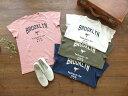 ショッピング快晴堂 快晴堂(かいせいどう) USED フレンチスリーブTシャツ A柄ブルックリン・テコンドー(91C-65)