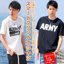 Tシャツ 半袖 メンズ Men's ティーシャツ T-SHIRTS ARMY フォト フォトプリント...