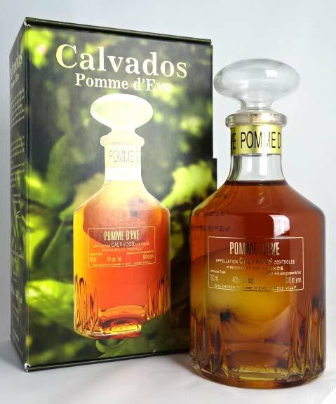 カルヴァドス ポム・ド・イヴ 600ml 40度 Calvados POMME D'EVE A00111