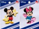 Disney ミッキー ミニー ワッペン