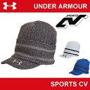 | 在庫限り販売終了 | アンダーアーマー メンズ 帽子 ニットキャップ ゴルフ コールドギア(冬用) UNDER ARMOUR UA GOLFブリムニットキャ...