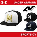 【メンズ】【帽子】UNDER ARMOUR(アンダーアーマー)UAベースボール5パネルキャップ〔ABB2238〕【ヒートギア】【野球】