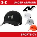 | 在庫限り販売終了 | 【メンズ】【帽子】UNDER ARMOUR(アンダーアーマー)UA RUNシャドーキャップ〔ARN2903〕【ヒートギア】