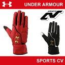 アンダーアーマー メンズ 野球 走塁用手袋 両手組 UNDER ARMOUR UAベースランナーグローブIII(走塁用)〔EBB2230〕