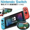 Nintendo Switchフィルム 強化ガラスフィルム 液晶保護フィルム ニンテンドー スイッチ ガラスフィルム 送料無料
