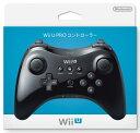 ※代引き不可★新品★任天堂 Wii U PRO コントローラー クロ(kuro)