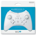 ★新品★任天堂 Wii U PRO コントローラー シロ (shiro)
