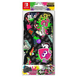 【即納★新品】NSW QUICK POUCH COLLECTION for Nintendo Switch(splatoon2)Type-B【2017年07月21日発売】