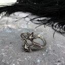 ショッピングチョッパー 【SALE!!12/15(日)17時まで】Arrow×Sheriff Star Ring by Cody Sanderson (コディ・サンダーソン作 アロー シェリフスター リング)ナバホ族navajoインディアンジュエリーネイティブアメリカンアンティークアクセサリーメンズindian jewelry指輪シルバー伝統工芸品
