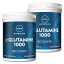[2個セット]L-グルタミン パウダー 1000gサプリメント アミノ酸配合