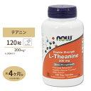 L-テアニン 200mg 120粒 NOW Foods(ナウフーズ)