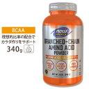 ◇ BCAAパウダー 340g NOW Foods(ナウフーズ)【ポイントUP対象★10/13 17:00〜10/27 9:59】