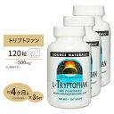 【トリプトファン 3個セット】L-トリプトファン(カルシウム&活性型ビタミンB6配合) 120粒/ダイエット・健康/健康/アミノ酸配合/L-トリプトファン