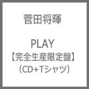 【新品】2018年3月21日発売予定!PLAY(完全生産限定盤)(菅田将暉フォトプリントデザインTシャツ付) Limited Edition プレイ