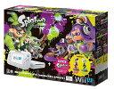 【新品】【即納】Wii U スプラトゥーン セット(amiibo アオリ・ホタル付き)【Amazon.co.jp限定】オリジナルステッカー3種付