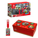 Nintendo Switch スーパーマリオ オデッセイセット+オリジナルラゲッジタグ+ギフトラッピングキット (BOX仕様:マリオキャラクターver.)