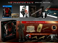 PlayStation4METALGEARSOLIDVLIMITEDPACKTHEPHANTOMPAINEDITIONPS4