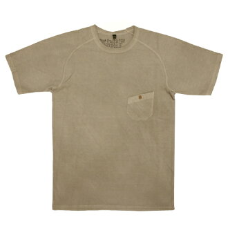 NIGEL CABOURN Nigel Kay Bonn BASIC T-SHIRT (GRAY) color dyeing fs3gm