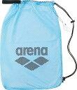 【ラッキーシール対象】ARENA(アリーナ)水泳水球競技バッグメッシュバッグ(M)ARN6440サックス