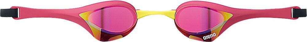 【ラッキーシール対象】ARENA(アリーナ)水泳水球競技ゴーグル・サングラスくもり止めスイムグラス クッションタイプ(ミラー加工)AGL180MPKPM