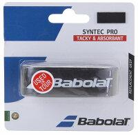 【ラッキーシール対象】Babolat(バボラ)テニスグッズその他バボラ シンテックプロ ブラック×イエローBA670051ブラツクの画像