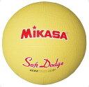 【ラッキーシール対象】 ミカサ(MIKASA)ハンドドッチボールソフトドッジボール 1 号STD1Rイエロー