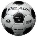モルテン(Molten)サッカーボールペレーダ4000 4号球 シャンパンシルバー×メタリックブラックF4P4000