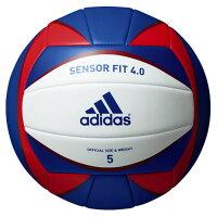 adidas(アディダス)バレーボールセンサーフィット4.0 5号球 ブルーAV516Bの画像