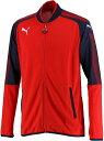 【ラッキーシール対象】PUMA(プーマ)サッカートレーニングウェアASCENSION トレーニングジャケット65526103PUMA RED-P
