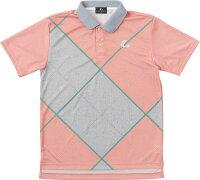 LUCENT(ルーセント)テニスUNI ゲームシャツ ライトピンクXLP8381の画像