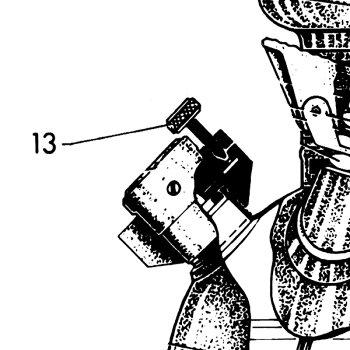 【楽天最安値に挑戦】Petromax(ペトロマックス)HK150用_スペアパーツ_[No.13]_圧力調整スクリュー_(ネジ)2195(アウトドア/グッズその他)