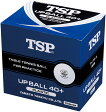 TSP卓球ボールアップボール40+練習球 10ダース入010047