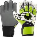 uhlsport(ウールシュポルト)サッカー手袋エリミネーター ソフト グラフィット1000191BLK/GRN/WHT