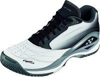 Yonex(ヨネックス)テニス男女兼用 クレー/砂入り人工芝コート用テニスシューズ パワークッションコンフォート W2 GC ホワイト×ブラックSHTCW2GCの画像