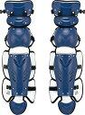ZETT(ゼット)野球&ソフトマスク・プロテクタープロステイタス 軟式野球用レガーツ BLL3295BLL3295ネイビー/Sグレー