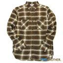 【FIVE BROTHER (ファイブブラザー)】ライトネル起毛ワークシャツ メンズ チェックシャツ ネルシャツ (1516071)
