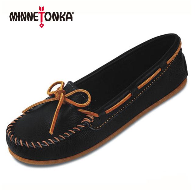 【送料無料】【ミネトンカ レディース】minnetonka BOAT MOC ミネトンカ ボートモック レザー 【日本正規代理店】送料無料 クラシックなボートモックをミネトンカ風にアレンジ(611S/616S/610R/617R/619R/)